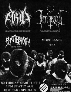 Anti-Fascist Metal Benefit