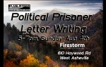 August letter writing night flyer